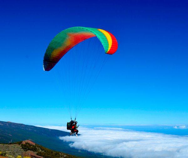 paraglinding